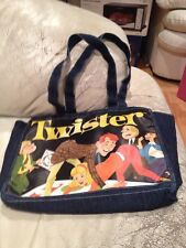 Vintage HASBRO TWISTER GAME Denim Bag Tote
