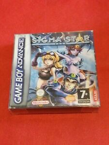 Très rare Jeu Nintendo Game Boy COLOR advance SIGMA STAR SAGA