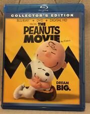 The Peanuts Movie (Blu-Ray + DVD) <<NEW>> **NO DIGITAL** Director Steve Martino