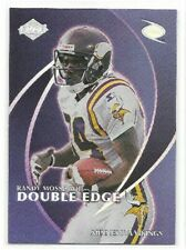 Jerry Rice / Randy Moss Rookie Card 1998 Double Edge 49ers Vikings Dual HOFer RC