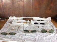 Vintage  Ray Ban Sunglasses Aviator Parts And Repair Lot