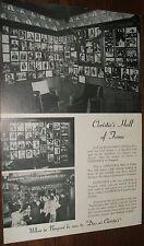 Christie's Restaurant Newport Rhode Island Large Souvenir Postcard 1960s