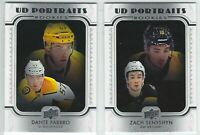 2019-20 Upper Deck Series UD PORTRAITS ROOKIES RC Complete Your Set - You Pick