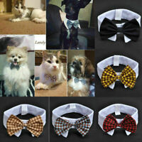 Newly Adorable Dog Cat Pet Puppy Kitten Toy Bow Tie Necktie Collar Clothes