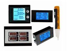 AC 80-260V 0-100A LCD Volt Current Watt Kwh Meter Power Energy Ammeter Voltmeter