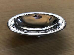 Georg Jensen Sterling Silver Footed Salt/Bowl 243C 1933-44 Makers Marks