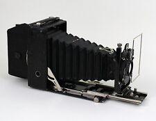 Alte Klappkamera, Plattenkamera, Zeiss Ikon Compur mit Tessar 1:45, f=10,5cm