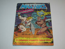 MOTU HE-MAN MASTERS OF THE UNIVERSE MINI COMIC 1983 SECRET LIQUID OF LIFE  DE IT