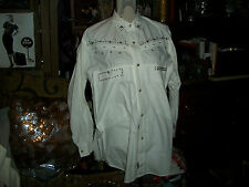 FREEGO Cool White Western Blouse Size SP