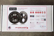 JW Speaker 8700 Evolution J2 Series w/ Carbon Fiber Bezel - Jeep Wrangler LED