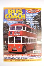 BUS AND COACH PRESERVATION NOVEMBER 2003 VOL 6 NO 6 BELFAST SUNBEAM TROLLEYBUS