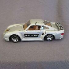 741B Guisval Porsche 959 Argenté 1:43