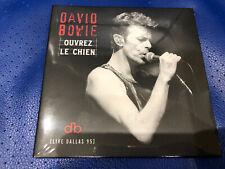 David Bowie Ouvrez Le Chien (live Dallas 95) Ltd Parlophone CD Album 2020