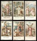 lotto santini-holy cards lot-lot images pieuses-konvolut heiligenbildichen n.004