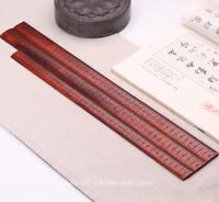 China Fine Lobular Sandalwood Hand-carved Measuring Ruler Wooden Teaching Ferule