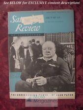 SATURDAY REVIEW November 24 1951 WINSTON CHURCHILL ALAN PATON