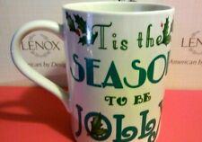 "Lenox ~ Holiday ~ Heat Changing Mug ~  ""Tis The Season To Be Jolly"" ~ NEW!"