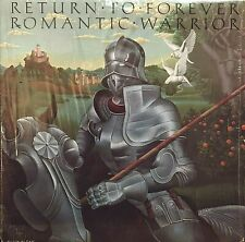 "RETURN TO FOREVER Romantic Warrior 12"" Lp Orig 1976 CBS Chick Corea / Jazz EX/NM"