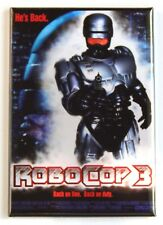 Robocop 3 Fridge Magnet (2 x 3 inches) movie poster