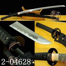FULL TANG BLADE MANGANESE STEEL KNIFE KATANA JAPANESE SAMURAI SWORD SHARP#077
