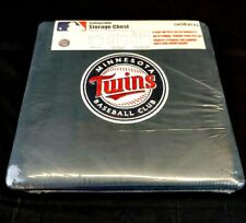 Imperial Minnesota Twins Collapsible Storage Chest, Seat, Ottoman, 16 x 16 x 16