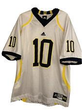 Michigan Wolverines Tom Brady #10 Adidas Authentic Jersey 52 Sewn RARE