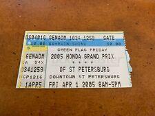 2005 Honda Grand Prix Racing Ticket Dan Wheldon Champ