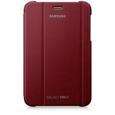 SAMSUNG Notebook Cover for 7 inch Samsung Galaxy Tab 2 tablet - Red