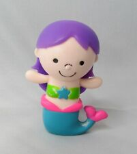 Purple Hair Mermaid Toy Figure Figurine Cake Topper Beach Luau Party Decor