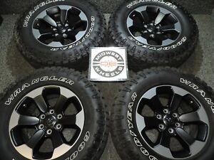"2020 Ram 1500 Rebel 18"" Wheels Tires Goodyear Duratrac AT LT275/70R18 19-21 J"