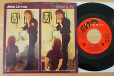 JOHN LENNON I'm Stepping Out 45 with Pic Sleeve (Polydor Promo) VG++