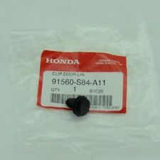 NEW Genuine OEM 1998-2018 Honda Acura Black Pillar Garnish Clip 91560-S84-A11