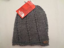 0b811d3e12d THE NORTH FACE CHUNKY KNIT BEANIE TNF GREY NF0A2T6HDYY Authentic Women One  Size