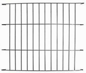 "Ellie-Bo black divider for 24"" small dog crate/cage - either standard or deluxe."