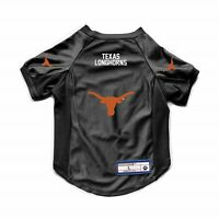 NEW TEXAS LONGHORNS DOG CAT DELUXE STRETCH JERSEY