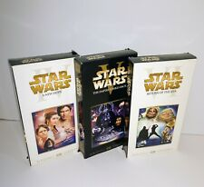 Star Was Original Trilogy Vhs A New Hope Empire Strikes Back Return of the Jedi