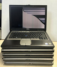 For Parts Mixed Lot Of 5 Dell Latitude D620 / D630 (Broken Screen / No Display)