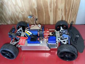 Traxxas 1/16 Fiesta Brushless electric Rally aluminum chassis trans case Rc