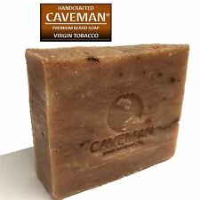 Original Handcrafted Beard and Body Soap by Caveman® (Virgin Tobacco)