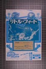 More details for little feat flyer vintage japan tour 1979