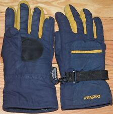 OSHKOSH B'GOSH THINSULATE INSULATION GLOVES NAVY BLUE BOYS YOUTH 4-7