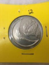 (JC) 20 sen 2005 Malaysia 2nd series Bunga Raya Error coin - UNC (B)