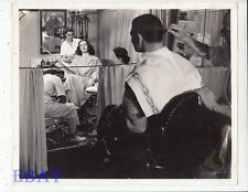 Clark Gable Rosalind Russell get haircuts VINTAGE Photo They Met In Bombay