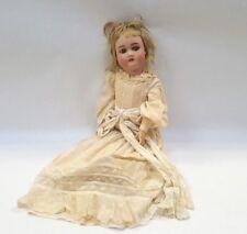 """CM Bergmann Bisque Head by Simon Halbig Doll Composition Body Antique 22"""" Blonde"""