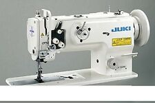 JUKI LU1509NS INDUSTRIAL SEWING MACHINE 1-NEEDLE THREE-TRANSPORT + table + servo