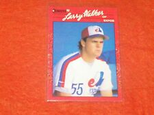 larry walker  (MONTREAL EXPOS-OF) 1990 donruss ROOKIE CARD #578 MINT CONDITION