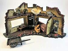 Ultimate Soldier 1:32 WWII Bombed Building Ruins Playset Diorama 21st Century