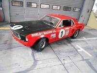 FORD Mustang Race MKI #1 Titus GT350 Shelby 1968 TransAm Muscle V8 AMC GMP 1:18