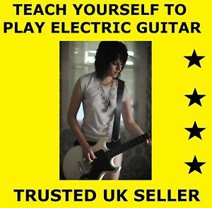 D019 Teach Yourself Electric Guitar Instructional DVD