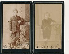 Photograph CDV Cabinet card Josh family Messina 1885 HPP